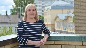 Katedralskolans rektor Marianne Pärnänen.