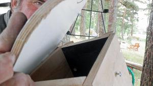 linnunpöntön katto