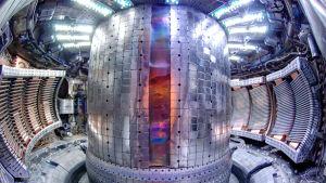 Tokamakreaktorn C-mod på MIT, USA.