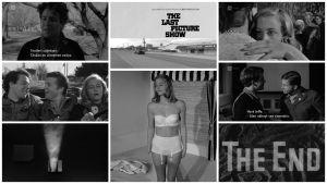 Kollaasi kuvia elokuvasta Viimeinen elokuva (1971).