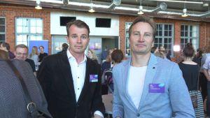 Markus Wartiovaara och Mika Peltola vill att barnens ska få rösträtt.