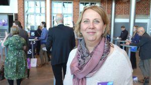 Anne Sokka-Tuomala imponerades av programmet på Framtidens lantdag.