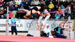 Linda Sandblom, Paavo Nurmi Games 2017.