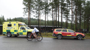 Olycka vid Orsa rovdjurspark i Dalarna.