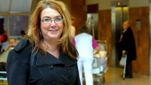 Carola Backholm drabbades plötsligt av ett hjärtfel och behövde en så kallad nödoperation.