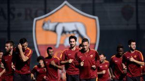 AS Romas träningar, hösten 2014