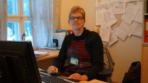 Carita Södö, ADB-koordinator som arbetat med införandet av patientdataarkivet.