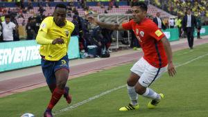 Ecuador spelar mot Chile i VM-kvalet.