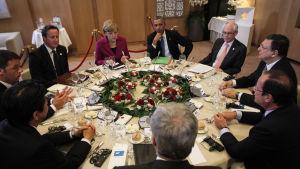G7-möte i Bryssel maj 2014