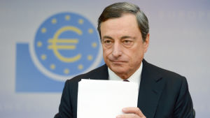 ECB:s chefdirektör Mario Draghi