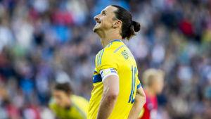 Zlatan Ibrahimovic, juni 2015.