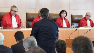 Session i Tysklands författningsdomstl
