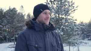 Robin Holmström är en av eldsjälarna bakom motrcrossbanan.