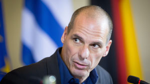 Greklands finansminister Yanis Varoufakis