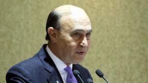 Mohab Mameesh, ordförande för Egyptens kanalmyndighet.