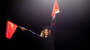 Användning av signalflaggor