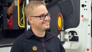 Olli Ryhänen brandmästare vid Västra Nylands Räddningsverk