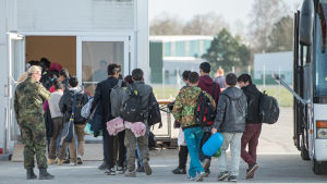 Flyktingar i Erding, Tyskland