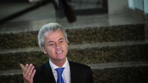 Frihetspartiet PPVs partiledare Gert Wilders.