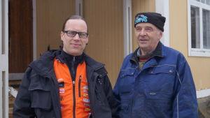 Tomas Hellqvist och Jan-Erik Snåre