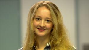 Kristina Fors från Jakobstad studerar på Novia i Vasa.