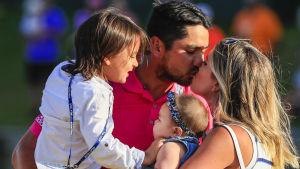 Jason Day prioriterar familjen och väljer bort OS i Rio de Janeiro.
