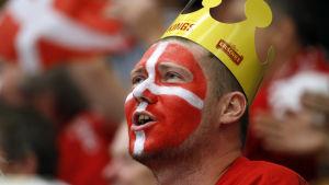 Danmark vände och vann över Schweiz.
