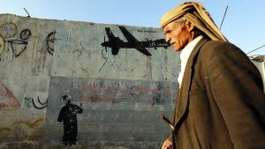 USA:s drönarattacker i Jemen som har krävt många civila offer, har utlöst kraftiga protester både i Jemen och i omvärlden