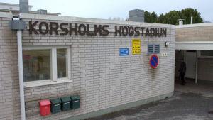 Korsholms högstadium.