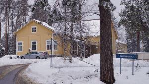 Söderby skola i Kronoby kommun.