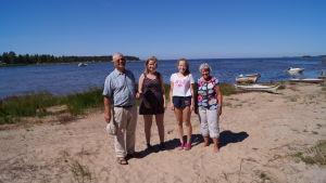 Österholms på sommarstugan vid Fäbodaviken.