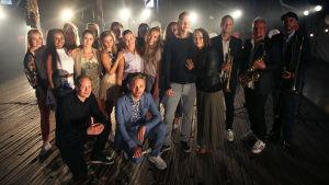 SuomiLOVE 3. kausi, 10. jakso, Reino Nordin Flashmob potrettikuva