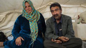 Abdullah Shems och hans fru Saida abd Alhamid förlorade sina enda barn. De är bittra och arga både på jihadister och regeringen i Bagdad.