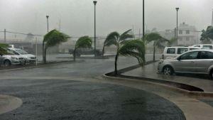 Orkanen Patricia svepte fram över Mexiko.