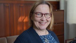 Stadsdirektör Kristina Stenman.