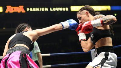 Knapp seger i boxnings vm