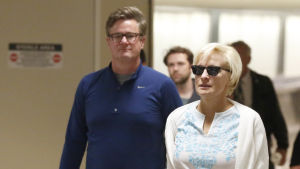 Programledarna Mika Brzezinski och Joe Scarborough.