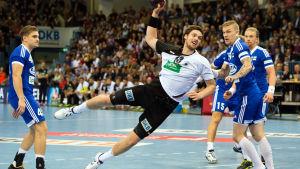 Finland förlorade mot Tyskland i EM-kvalets öppningsmatch.