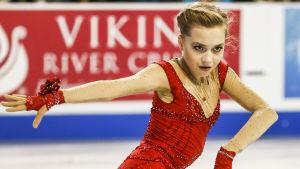 Jelena Radionova, Ryssland i Skate America, okt 2014