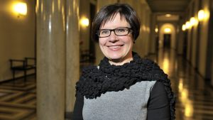 Riksdagens nya generalsekreterare Maija-Leena Paavola.