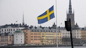 Tyst minut i Stockholm