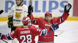 Jasse Ikonen och Arttu Luttinen.