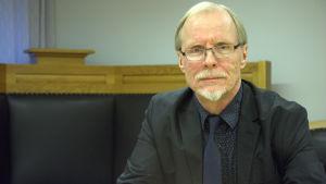 Överdomare Jaakko Kellosalo vid Vasa förvaltningsdomstol.