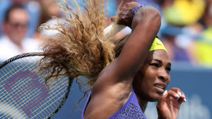 Serena Williams vinner WTA-turneringen i Cincinnati 2014.