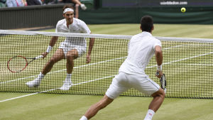 Federer och Djokovic spelar i Wimbledonfinalen år 2015