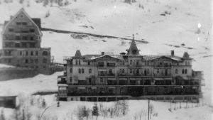 Sanatorium Davos-Dorf, bild Edith Södergran.