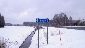 Snåre by i Kronoby.