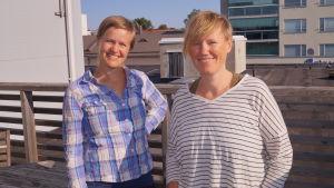 Heidi Lunabba och Ilar Gunilla Persson
