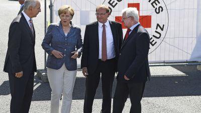 Merkels skamflack