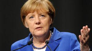 Tysklands förbundskansler Angela Merkel